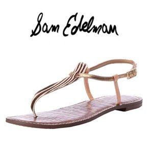 Sam Edelman t-strap sandals